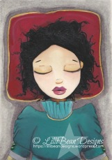 Original Painting 'Asleep' Available for purchase Here.