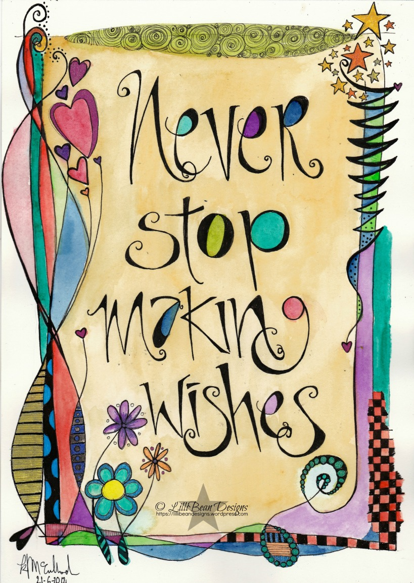 NEVER STOP MAKING WISHES free download