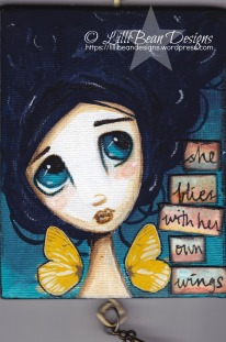 She Flies with her own Wings Available for sale here
