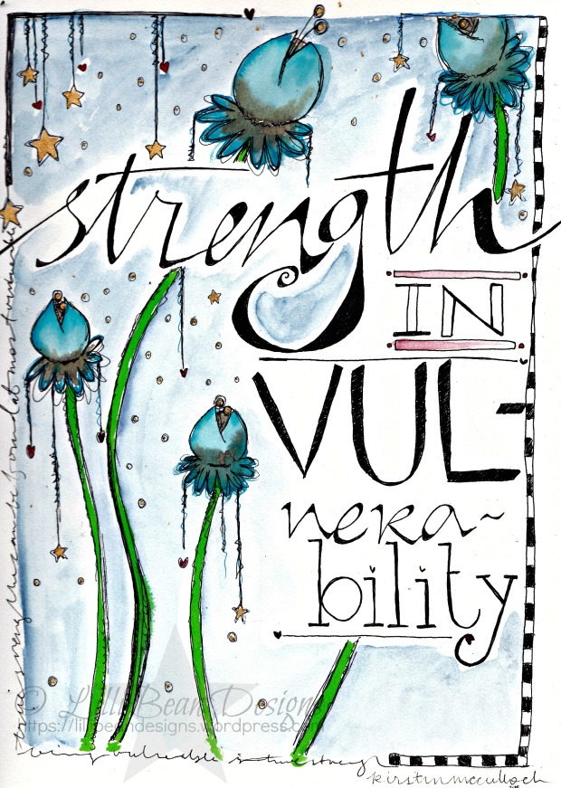 Strength in Vulnerability. To download click on the photo or here.