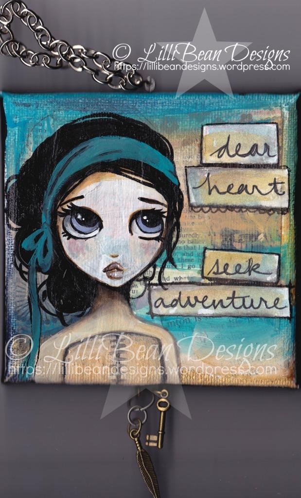 Dear heart seek adventure [wm]