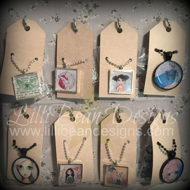 FINALLY! Updating the LilliBean Designs Store with my jewelry... it took so long for me to do this!