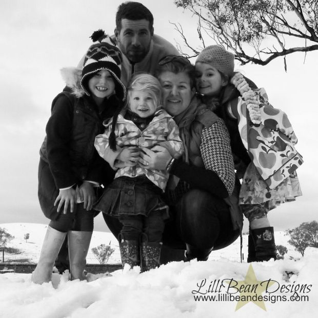 Capturing that perfect family moment. Like the once in a lifetime event, this is a once in a lifetime photo!