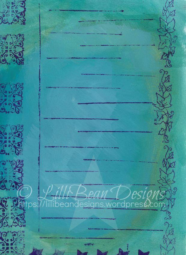 Week 19 - Stamping fun with Jessica Swift