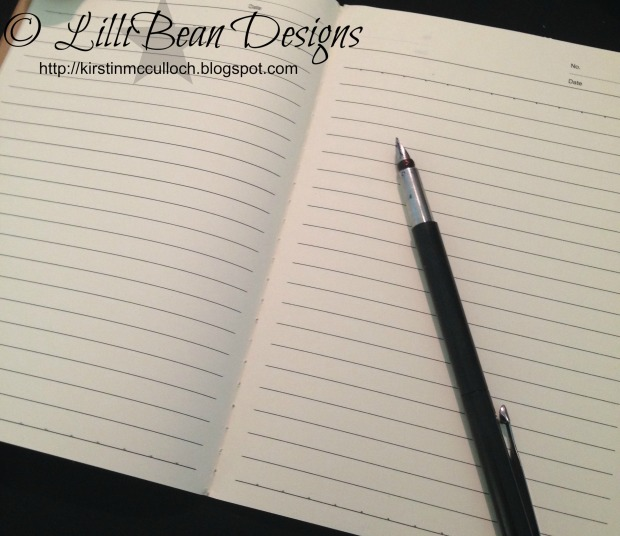 notebook inner lined