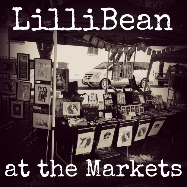 LiliBean At the Markets