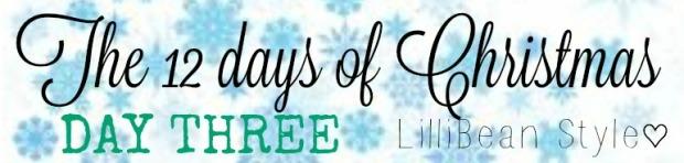 12 days of Christmas - 3