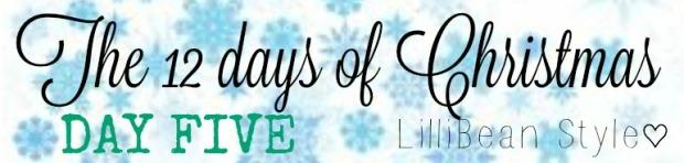 12 days of Christmas - 5