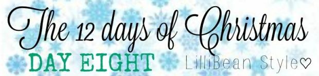 12 days of Christmas - 8