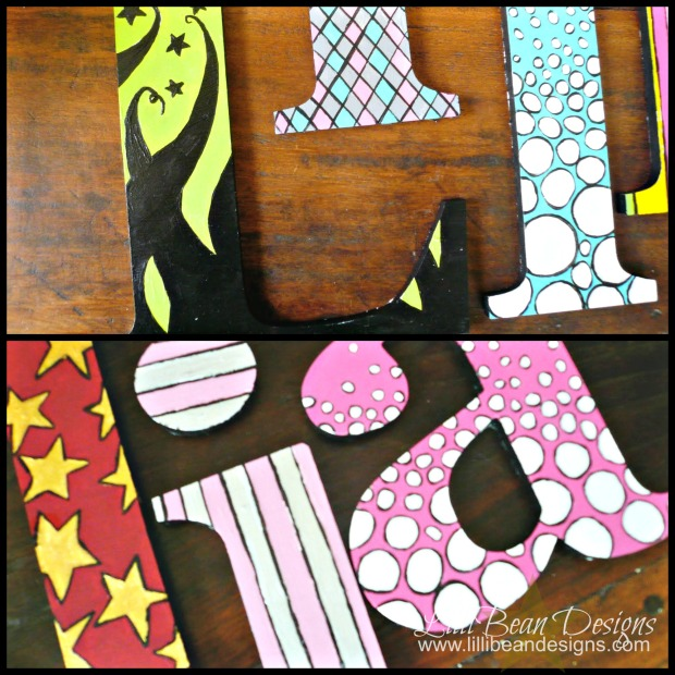 Letter Collage 'A'