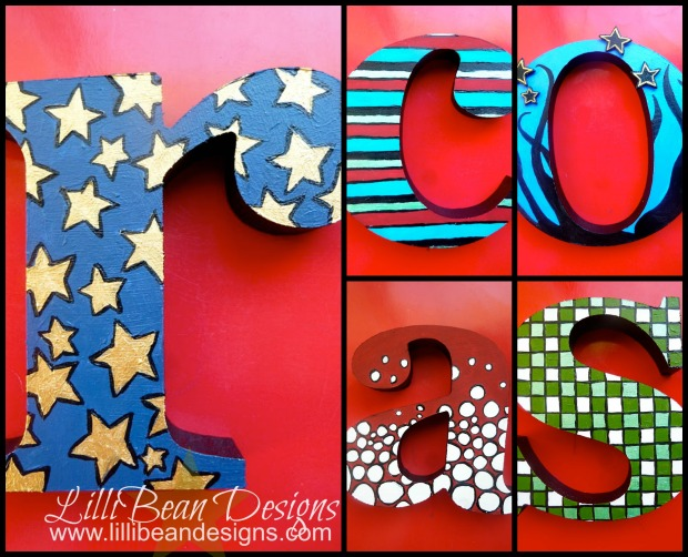 Letter Collage 'o'
